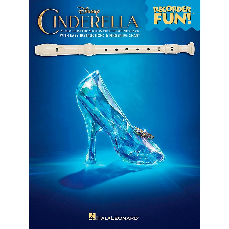 Hal Leonard Cinderella - Music From The Motion Picture Soundtrack - Recorder Fun! (Book Only)
