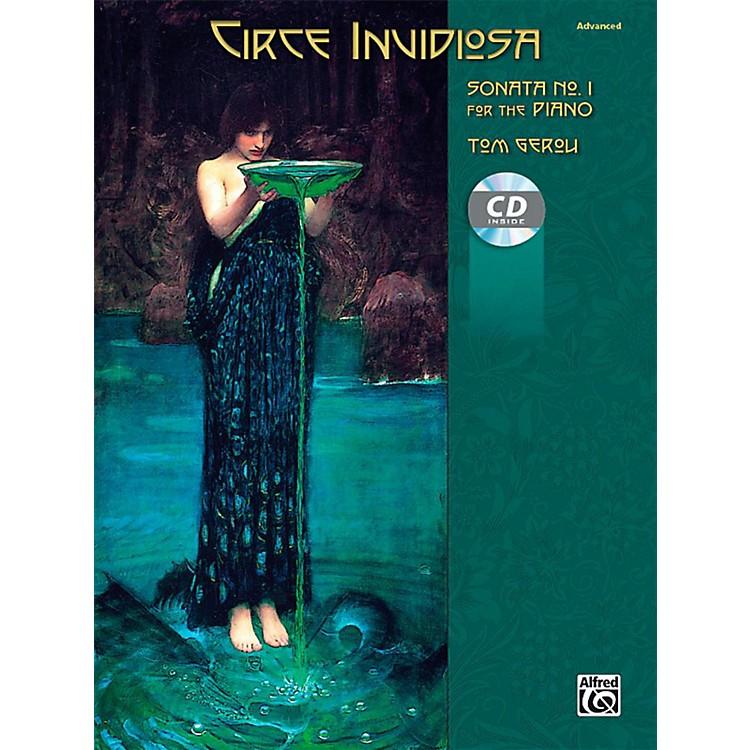AlfredCirce Invidiosa: Sonata No. 1 for the Piano - Book & CD Advanced