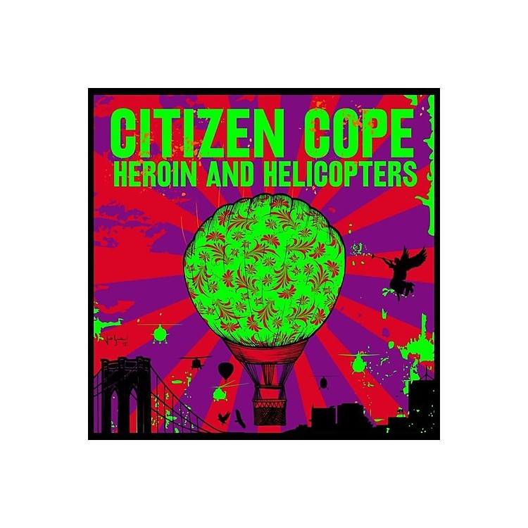 Alliance Citizen Cope - Heroin & Helicopters (CD)