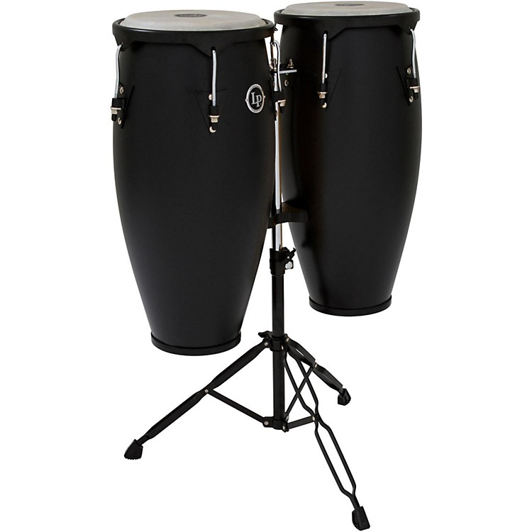 LP City Conga Set with Stand Black