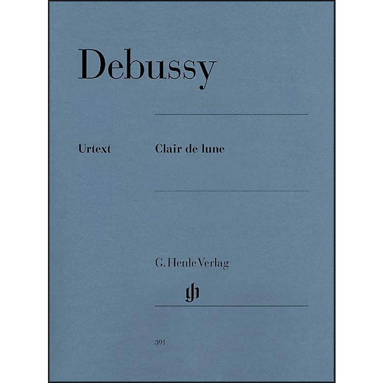 G. Henle VerlagClair De Lune By Debussy