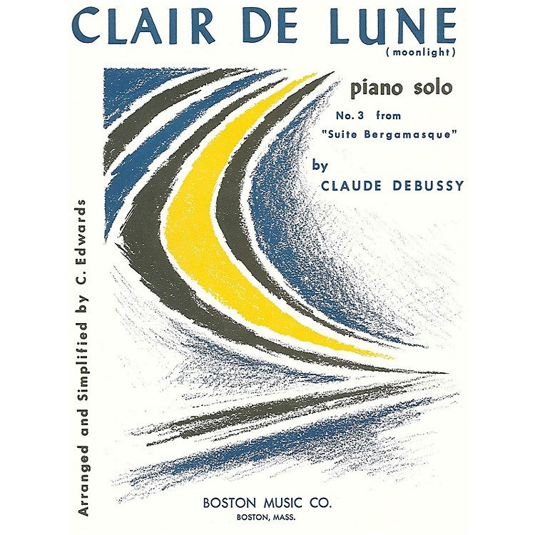 Music Sales Clair De Lune No. 3 Suite Music Sales America Series
