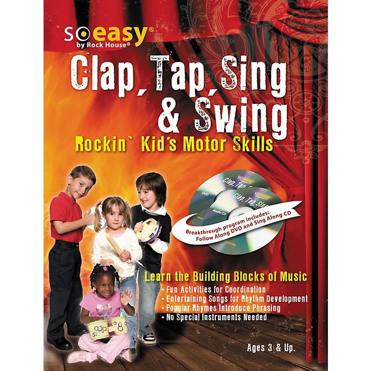 Hal LeonardClap, Tap, Sing & Swing: Rockin' Kid's Motor Skills DVD/CD