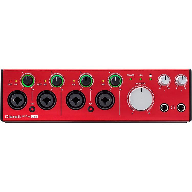 FocusriteClarett 4Pre USB Audio Interface