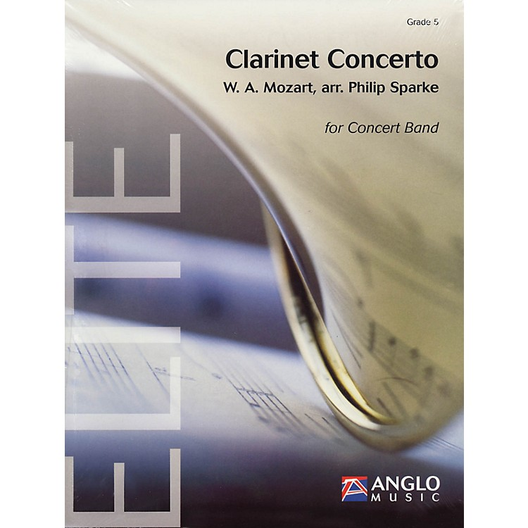 Anglo Music PressClarinet Concerto (Grade 5 - Score and Parts) Concert Band Level 5 Arranged by Philip Sparke