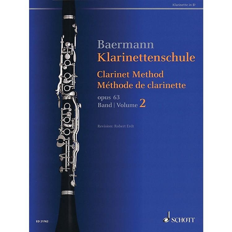 SchottClarinet Method, Op. 63 (Volume 2, Nos. 34-52 - Revised Edition) Woodwind Method Series Softcover