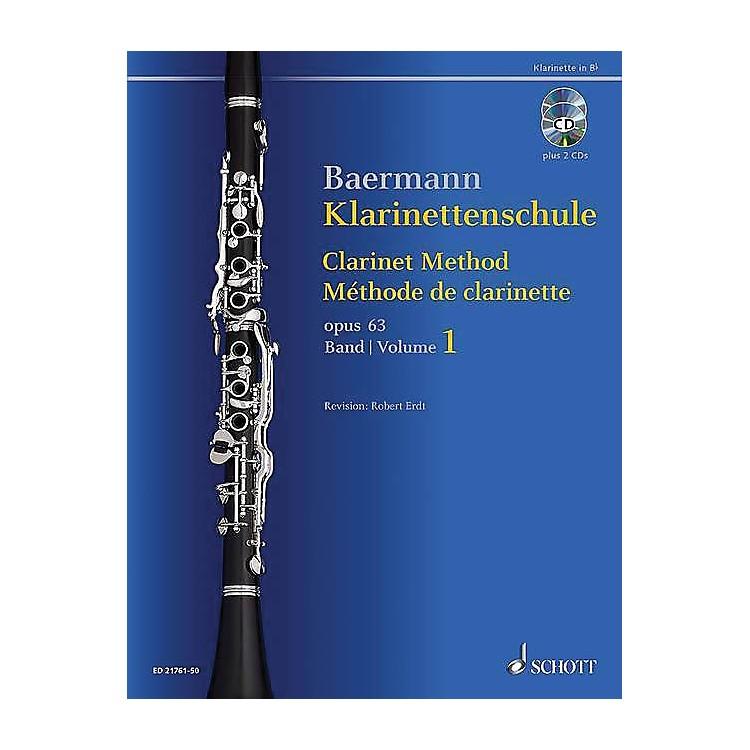 SchottClarinet Method, Op. 63 Woodwind Method Series BK/CD