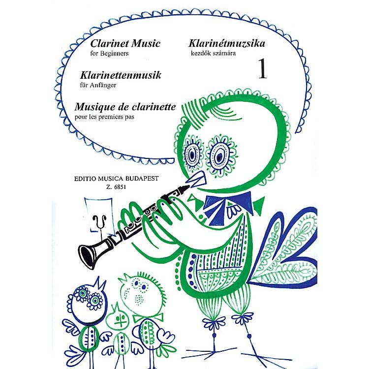 Editio Musica BudapestClarinet Music for Beginners - Volume 1 EMB Series