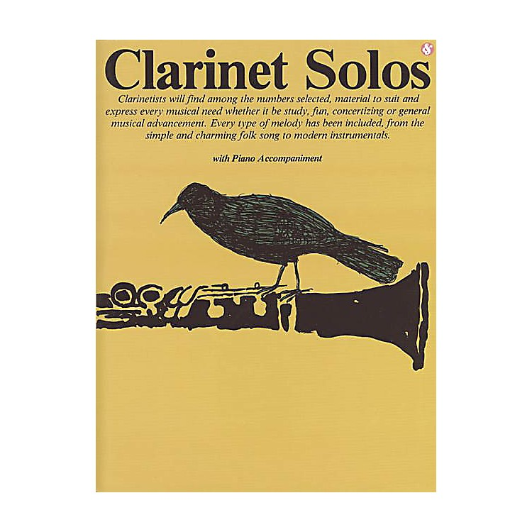 Music Sales Clarinet Solos (Everybody's Favorite Series, Volume 28) Music Sales America Series Softcover