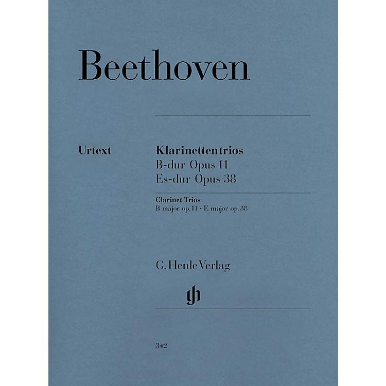 G. Henle VerlagClarinet Trios B Flat Major Op. 11 and E Flat Major Op. 38 Henle Music by Ludwig van Beethoven