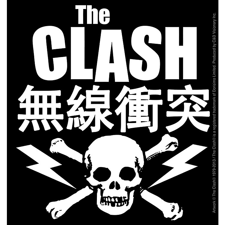 C&D Visionary Clash Skull Bone Sticker