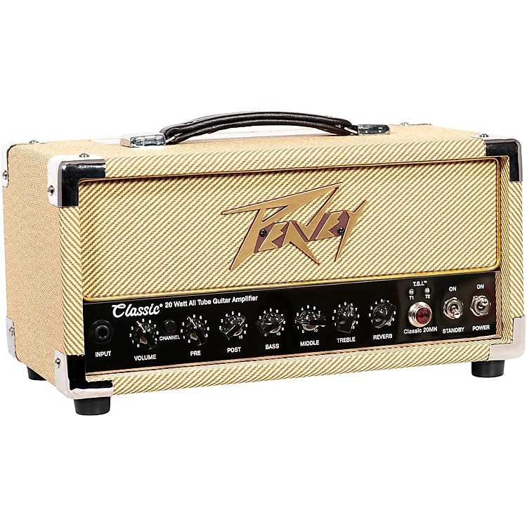 peavey classic 20 micro tube guitar amp head music123. Black Bedroom Furniture Sets. Home Design Ideas