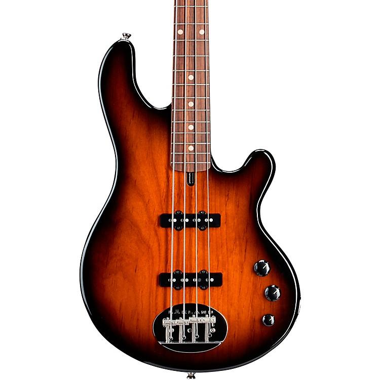 LaklandClassic 44 Dual-J Rosewood Fretboard Electric Bass GuitarTobacco Sunburst