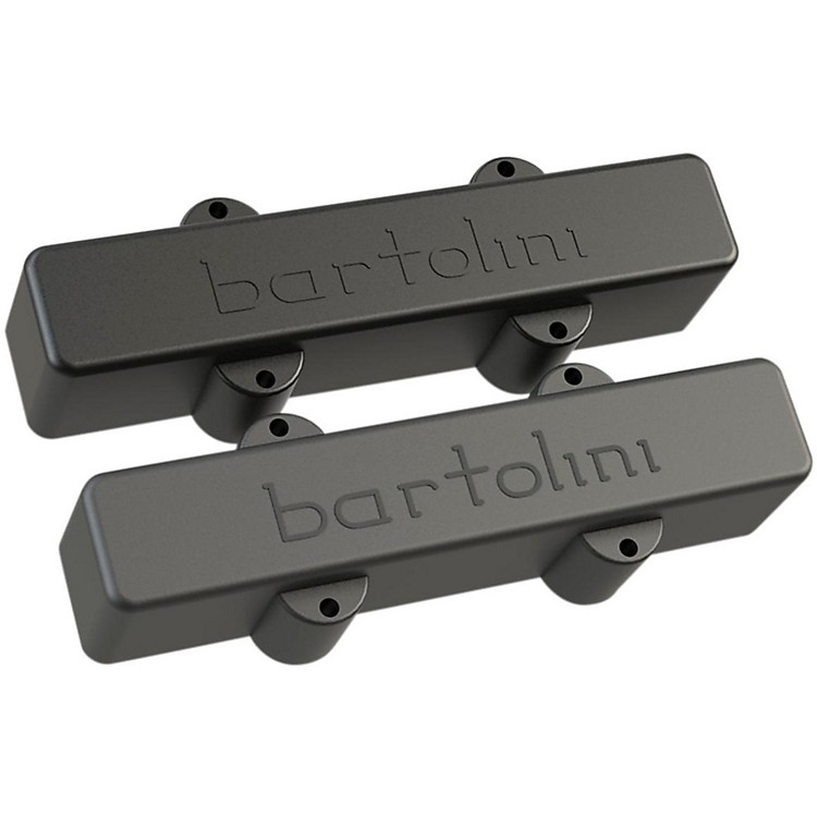 Bartolini Classic Bass Series 5-String J Bass Dual Coil Deep Tone Pickups Set Long/Long