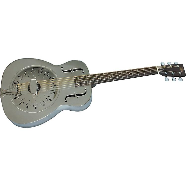 RogueClassic Brass Body Resonator Guitar