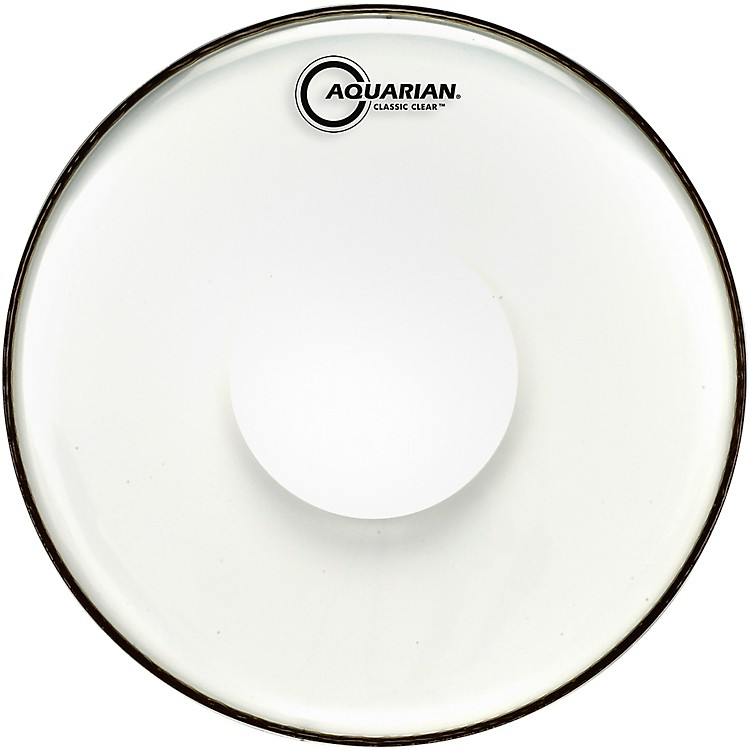 aquarian classic clear with power dot snare drum head music123. Black Bedroom Furniture Sets. Home Design Ideas