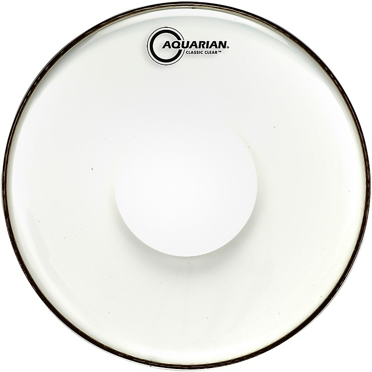 AquarianClassic Clear With Power Dot Tom Head8 in.