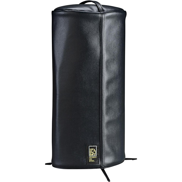 iCA Classic Cornet Cover in Faux Leather  Black