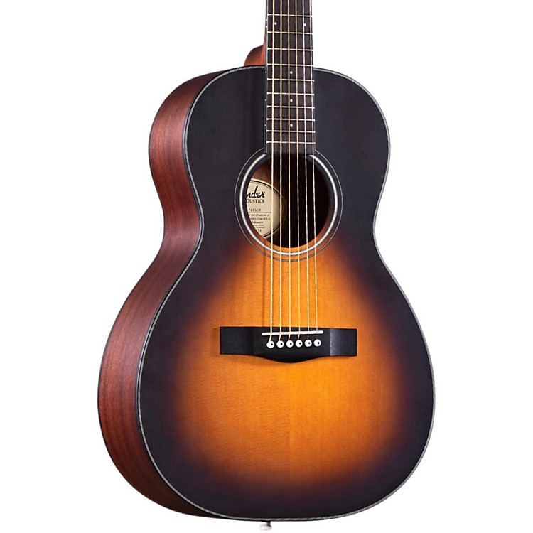 FenderClassic Design CP-100 Parlor Acoustic GuitarSatin SunburstRosewood Fretboard