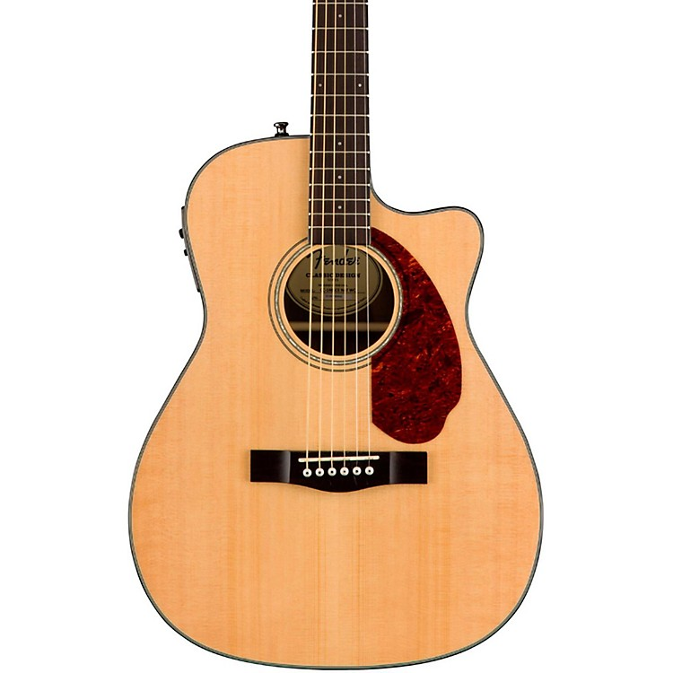 Fender Classic Design Series CC-140SCE Cutaway Concert Acoustic-Electric Guitar Sunburst