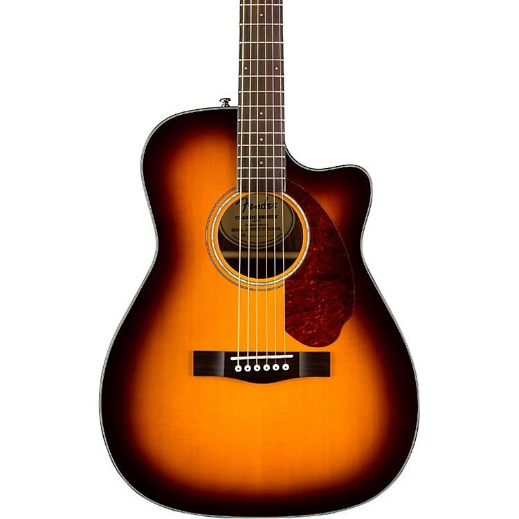 FenderClassic Design Series CC-140SCE Cutaway Concert Acoustic-Electric GuitarSunburst