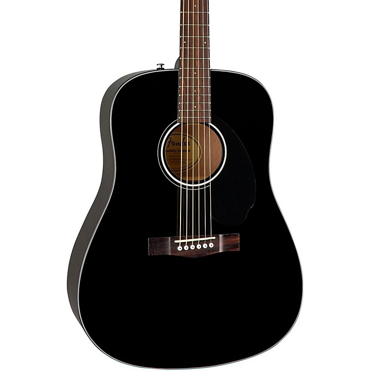 Fender Classic Design Series CD-60S Dreadnought Acoustic Guitar Natural