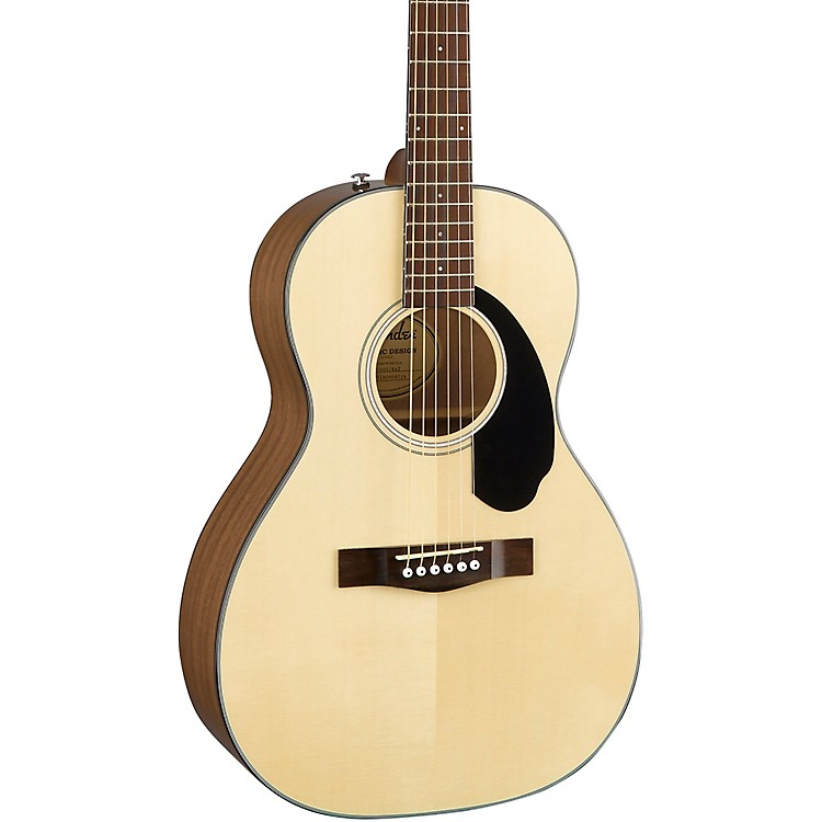 Fender Classic Design Series CP-60S Parlor Acoustic Guitar Natural
