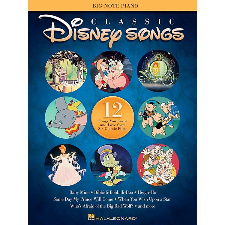 Hal LeonardClassic Disney Songs for Big Note Piano