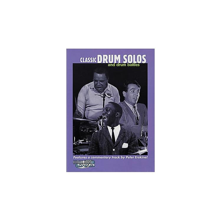 Hudson MusicClassic Drum Solos and Drum Battles (DVD)