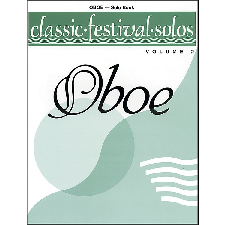 AlfredClassic Festival Solos (Oboe) Volume 2 Solo Book