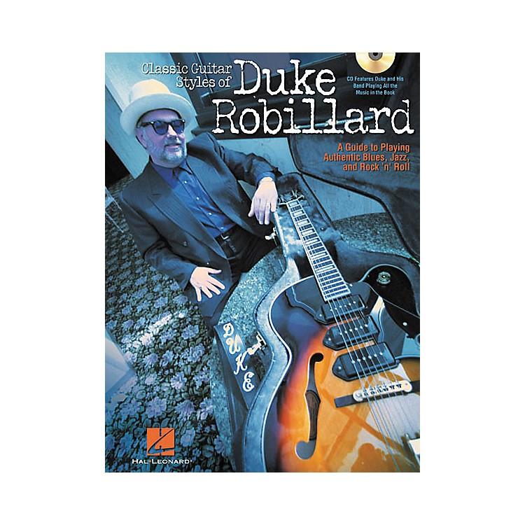 Hal LeonardClassic Guitar Styles of Duke Robillard (Book/CD)