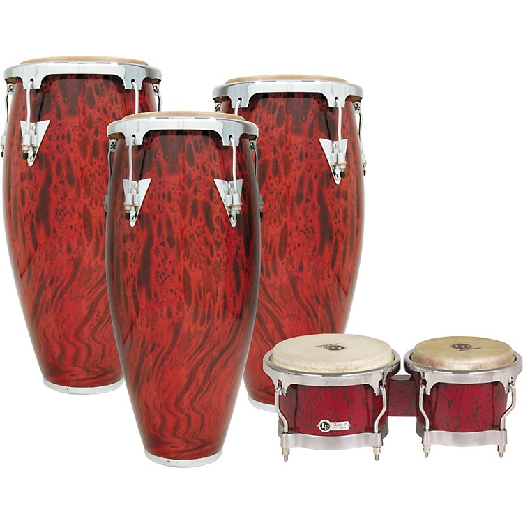 LPClassic II Conga Set with Free Bongos