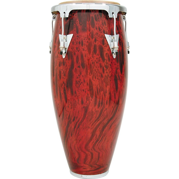 LP Classic II Series Conga with Chrome Hardware 11 in. Quinto Lava Red