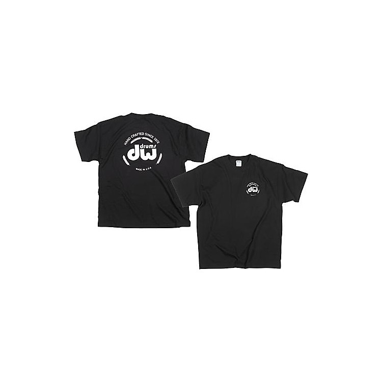 DWClassic Logo T-ShirtBlackExtra Large