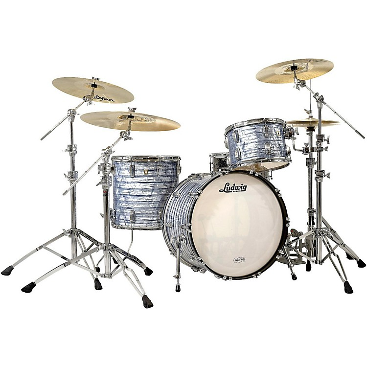 LudwigClassic Maple 3-Piece Shell PackSky Blue Pearl