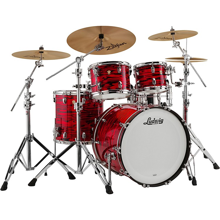 LudwigClassic Maple 4-Piece Mod Shell Pack with 22