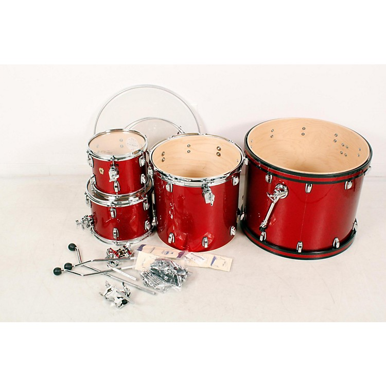 Ludwig Classic Maple 4-Piece Shell Pack Red Sparkle 888365854755