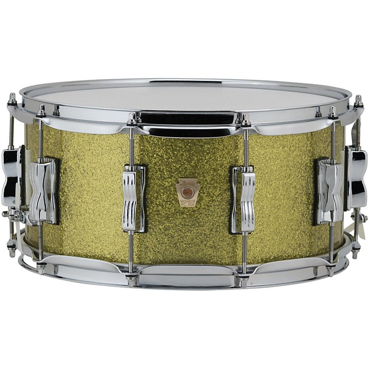 LudwigClassic Maple Snare Drum14 x 6.5 in.Olive Sparkle