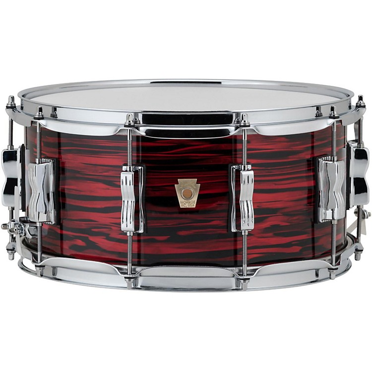 Ludwig Classic Maple Snare Drum 14 x 6.5 in. Red Oyster Pearl