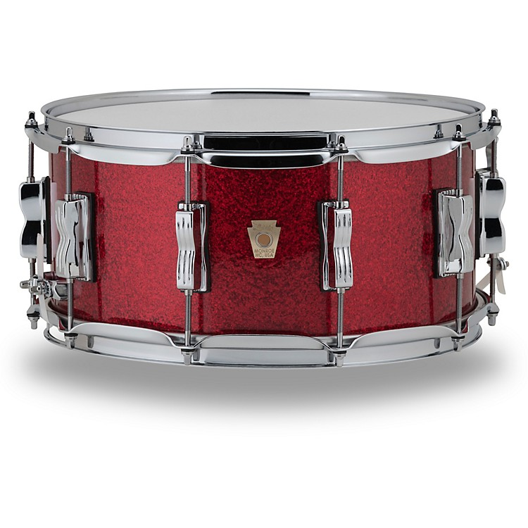 LudwigClassic Maple Snare Drum14 x 6.5 in.Red Sparkle