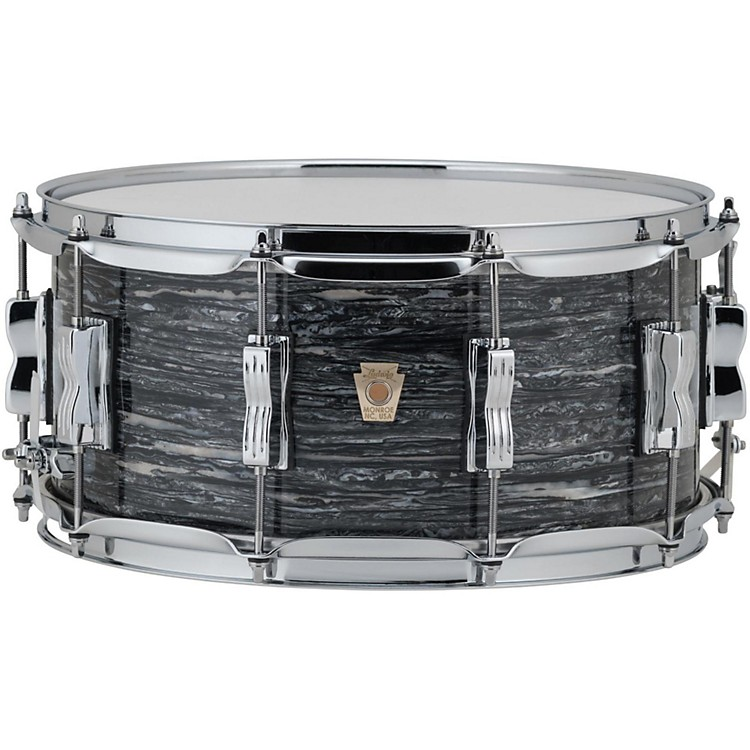 Ludwig Classic Maple Snare Drum 14 x 6.5 in. Silver Sparkle