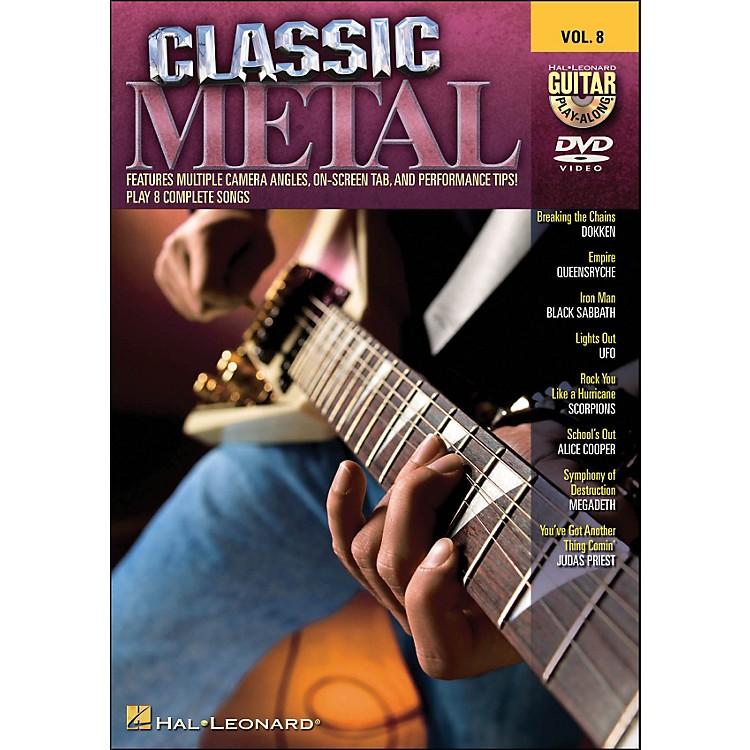 Hal LeonardClassic Metal - Guitar Play-Along DVD Volume 8 (DVD)
