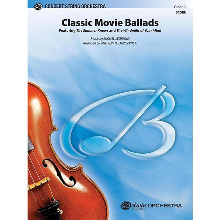 AlfredClassic Movie Ballads String Orchestra Grade 3