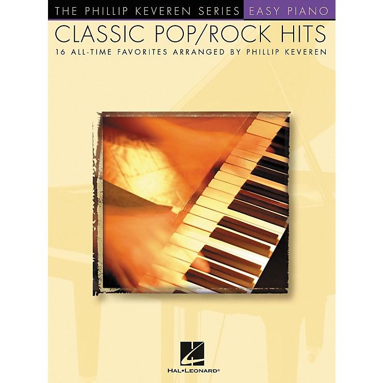 Hal LeonardClassic Pop/Rock Piano Hits - Phillip Keveren Series For Easy Piano