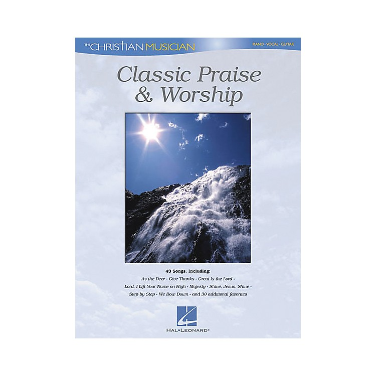 Hal Leonard Classic Praise and Worship Piano/Vocal/Guitar Songbook