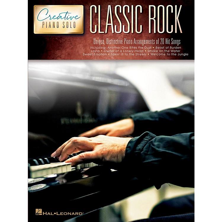 Hal LeonardClassic Rock - Creative Piano Solo Songbook