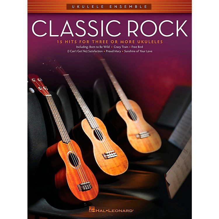 Hal LeonardClassic Rock - Ukulele Ensemble Series Mid-Intermediate Level Songbook