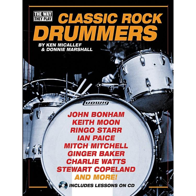 Hal LeonardClassic Rock Drummers (Book/CD)
