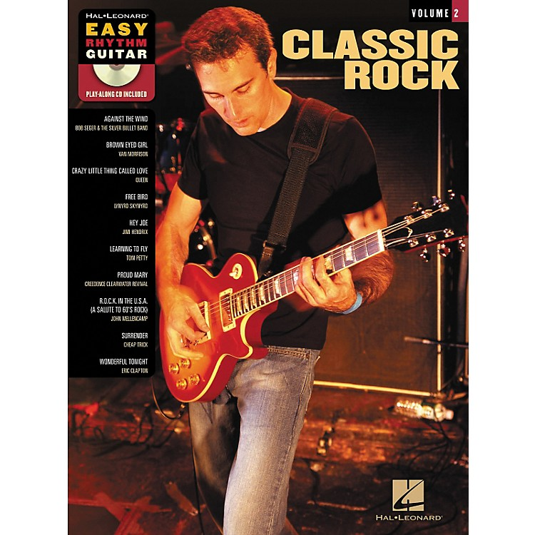 Hal Leonard Classic Rock: Easy Rhythm Guitar Series, Volume 2 (Book/CD)