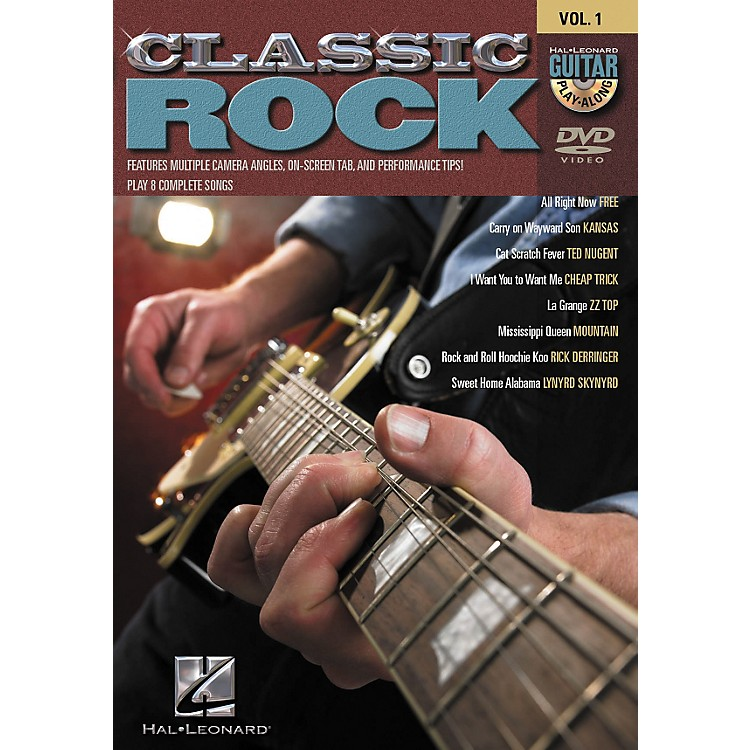 Hal LeonardClassic Rock Guitar Play-Along DVD Series - Volume 1